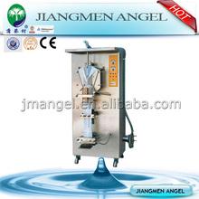 Jiangmen Angel automatic water pouch packing machine price/automatic liquid packaging machine