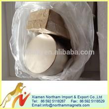 high quality largest n50 n52 NdFeB/Neodymium Magnet n52 D70X50mm