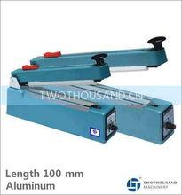 Plastic Film Sealer - Length 100 mm, Aluminum, 500 x 480 x 340 mm, TT-Z16A