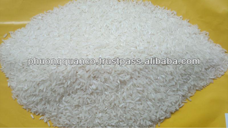 Best Quality -New crop Vietnamse Long Grain White Rice 25% broken