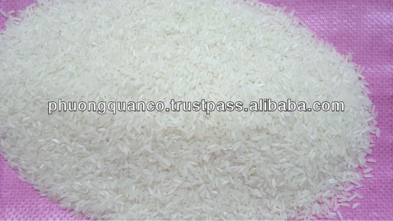Good Vietnamese Long Grain White Rice 15% broken