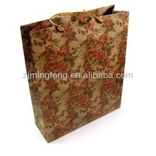 high quality t shirt packaging paper bag wholesale