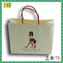 White kraft paper shopping paper bags kraft paper bags wholesale