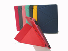 ultrathin transformers double-sided smart cover for apple ipad mini 2 tablet