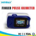 Fda CE aprobó pantalla oled mini portátil clip spo2 del sensor / sonda de mano de la yema del dedo / del dedo oxímetro de pulso fabricante