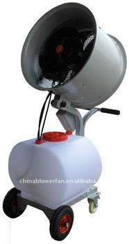 axial water misting fan/outdoor humidifier/ventilation misting fan(MF-I-007-1)