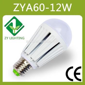 Professional Design Isolated Driver 12W E27 LED Bulb