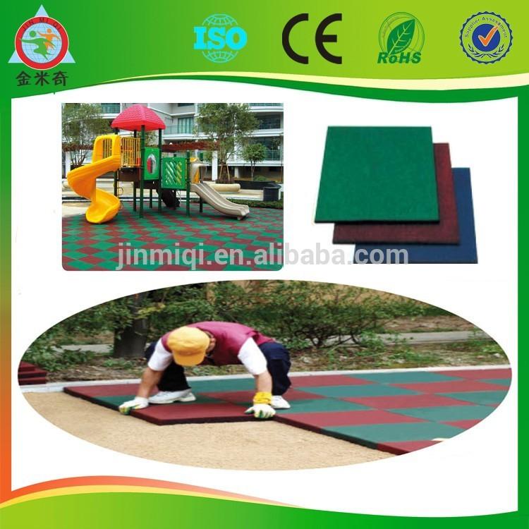 2014 Rubber Mat Outdoor Rubber Flooring Outdoor Playground