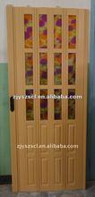 pvc folding door,pvc sliding door for bathroom and kitchen