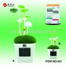 Mushroom solar Lamp solar toys Crafts
