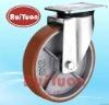Urethane polyurethane wheel European type heavy duty castors