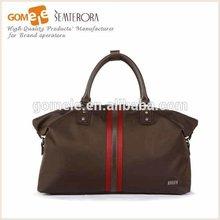 2015 New Arrival Stylish Designers Mens Nylon Travel Bag Big Size Vintage Contrast color bag