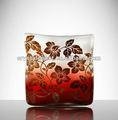 Rosso ingrosso di massa giallo tavolo del buffet di murano vasi di vetro acrilico; cilindro vaso di vetro per la disposizione dei fiori; vaso di fiori di vetro;