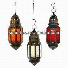 Metal Hanging Moroccan Lantern
