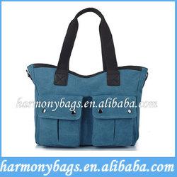 Eco-friendly blank canvas custom tote bag
