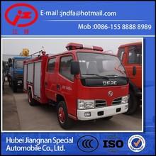 DONGFENG DFAC water tank fire fighting truck 2000L(JDF5050GXFSG10/X fire pump truck)