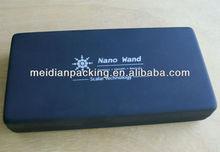 Elegant blue metal pen box/pencil box package for sale