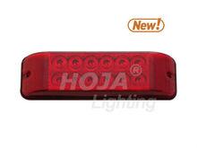 8 inch x 2.5 inch Surface Mount Third Brake (Tail) Trailer Light led trailer brake lights