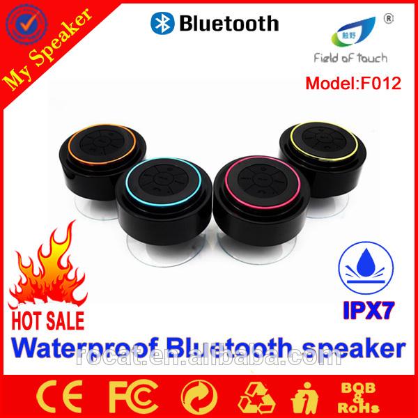 2015 china supplier innovative swimming pool IPX7 waterproof bluetooth speaker