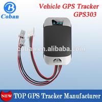 vehicle/car gps Tracker COBAN tk303 GPS tracker with mobile/web/APP platform www.gpstrackerxy.com