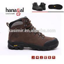 Al aire libre para caminar los zapatos hombre calzado de mujer de otoño e invierno de piel de vaca térmica resistente al agua senderismo zapatos de los deportes de deslizamiento- resistente a