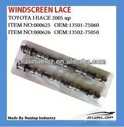 toyota hiace parts 13501-75060,13502-75050 camshaft.2TR for hiace van,commuter,KDH200 #000625/#000626
