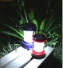 portable super bright LED solar lantern lamp