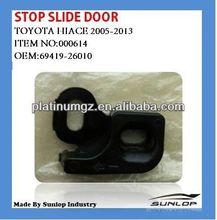 toyota hiace parts new #000614 stop slide door 69419-26010 for hiace van,hiace commuter,KDH200