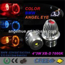 led angel eyes marker led e92 marker 6w angelo gli occhi per bmw led fantasma porta ombra leggera