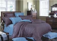 2015 china luxury bed sheet black satin sheets bright color comforter sets
