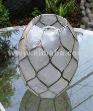 Capiz Shell Lamp / Hanging Shell Lamp / Handicraft Lamp