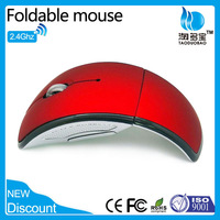 2013 new product! arc 2.4g wireless mouse arc touch mouse with Fcc standard