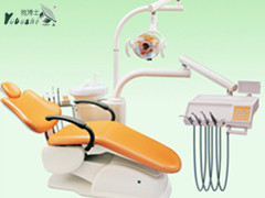 movable ceremic spitoon with dental assistant chair