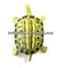 custom pvc toy plastic wild animals,injected pvc tortoise figurine toy