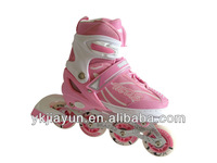 kids adjustable inline skating shoes with ce port,high quality colorful skate shoes brand