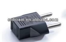 US to Euro EU plug travel adapter convert 220v to 110v ac
