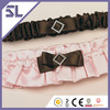 Chocolate And Strawberry Cream Bridal Wedding Garter Set