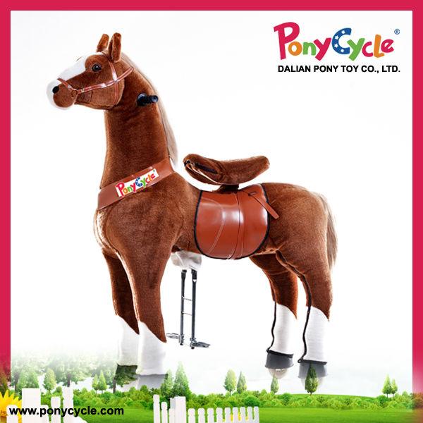 Pferd Plüsch Reiten Machanical Pferd Reiten Auf