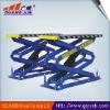 small hydraulic scissor lift for the car