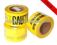 2012 hot sell pe warning tape