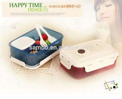 Wholesale Plastic Bento Lunch Box