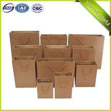 customized 260gsm kraft paper bag