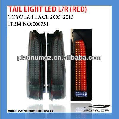 new model for toyota hiace TAIL LIGHT LED/000731/HIACE2005/commuter/hiace van
