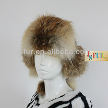 2015 Fashion and noble and high quality new winter Russia style Real fox animal ears long fur hat
