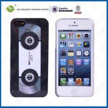 TPU cassette tape case design for iphone 5