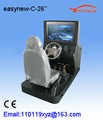 ( arábica/inglês/espanhol/vietname/português) do carro de condução simulador de treinamento de