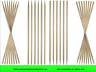 Wholesale flexible round bamboo stick
