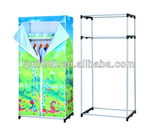 Factory Directly Home Furniture Folding Easy Assemble Plastic Portable Wardrobe Closet