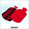 Rubber hot water bag