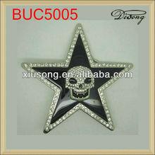 BUC5005 Fashion men's custom men leather belt buckle
